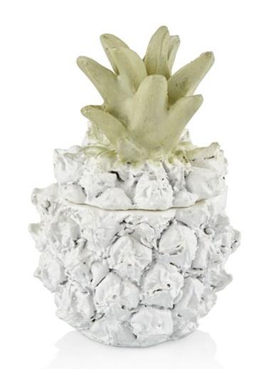 Cemile Beyaz Küçük Ananas 6X9 Beyaz